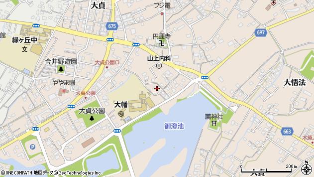 大分県中津市大貞232周辺の地図