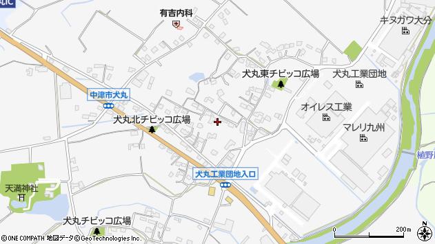 大分県中津市犬丸595周辺の地図