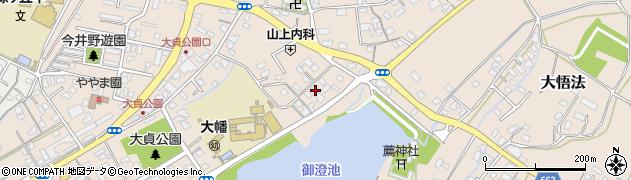 大分県中津市大貞227周辺の地図