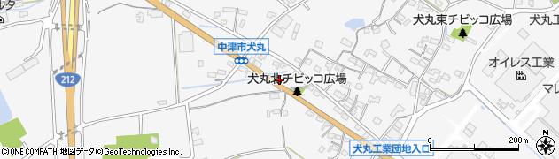 大分県中津市犬丸1468周辺の地図