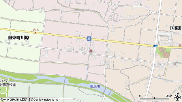 大分県国東市国東町北江242周辺の地図