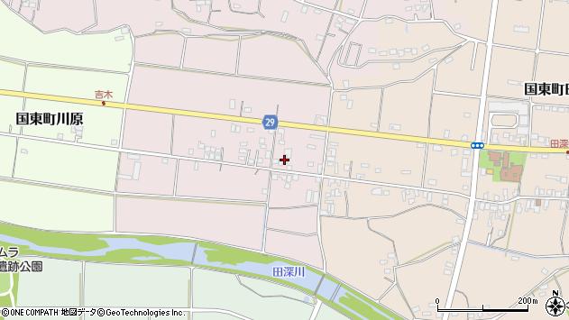 大分県国東市国東町北江241周辺の地図