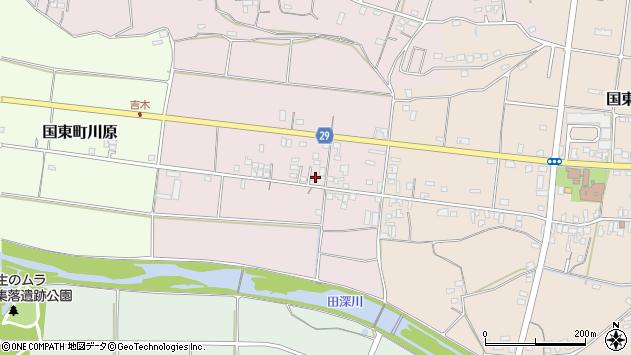 大分県国東市国東町北江264周辺の地図
