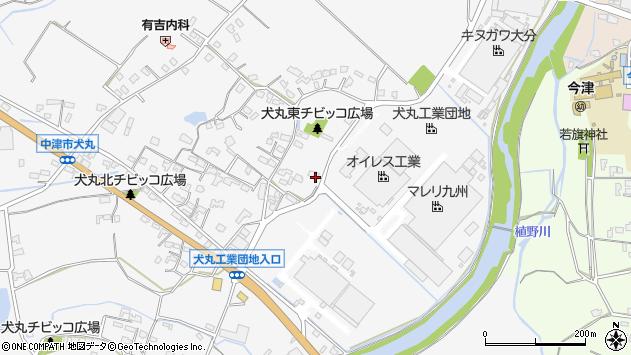 大分県中津市犬丸277周辺の地図
