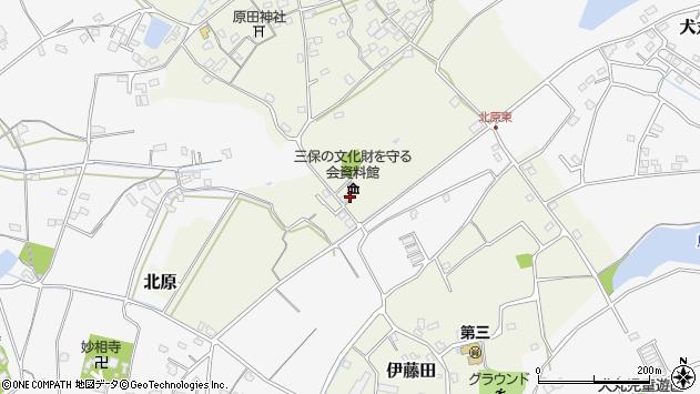 大分県中津市北原127周辺の地図