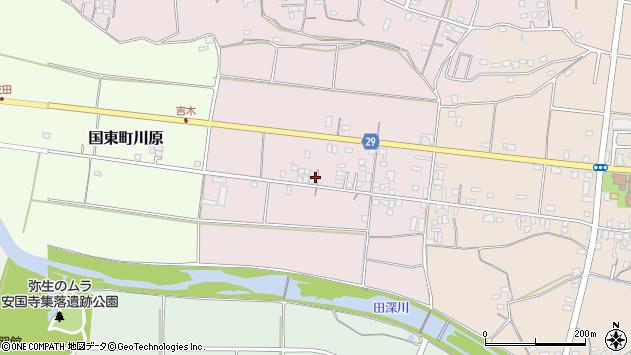 大分県国東市国東町北江107周辺の地図