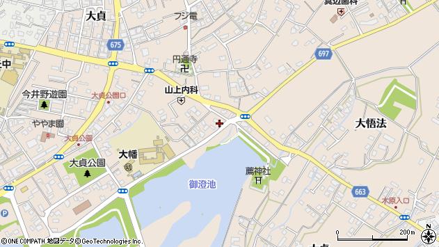大分県中津市大貞218周辺の地図