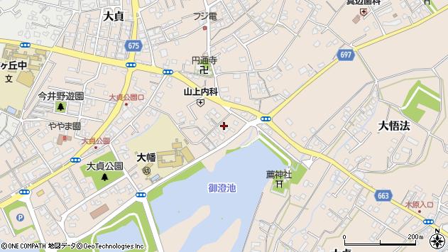 大分県中津市大貞226周辺の地図