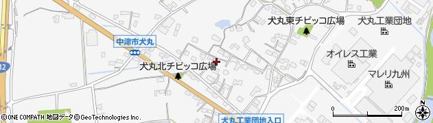 大分県中津市犬丸601周辺の地図