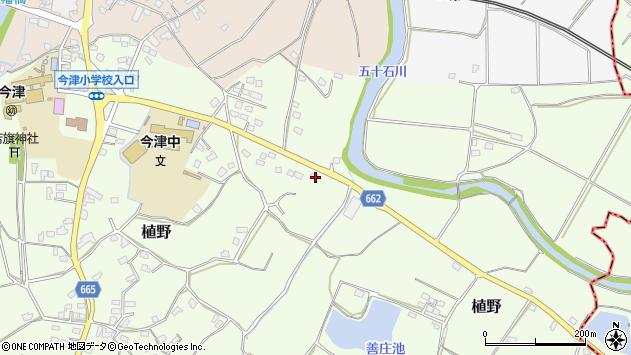 大分県中津市植野2007周辺の地図