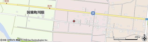 大分県国東市国東町北江82周辺の地図