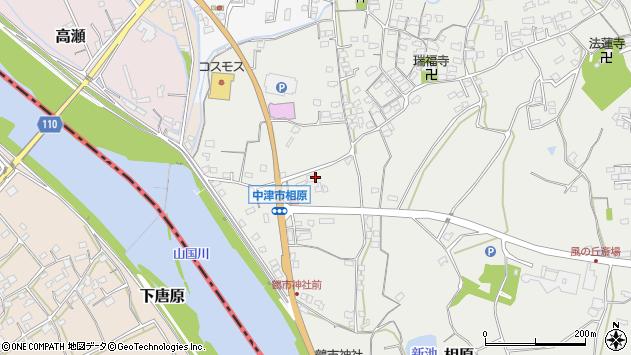 大分県中津市相原3391周辺の地図