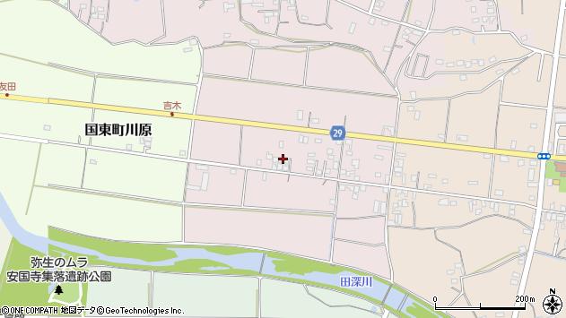大分県国東市国東町北江98周辺の地図