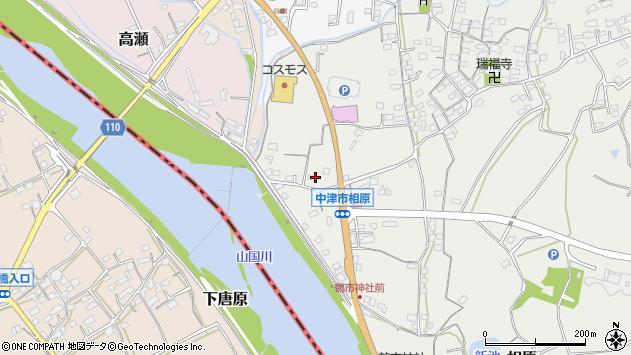 大分県中津市相原3372周辺の地図