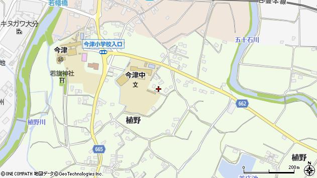 大分県中津市植野1903周辺の地図