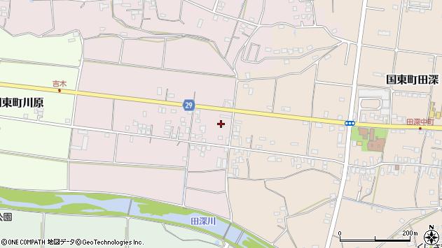 大分県国東市国東町北江252周辺の地図