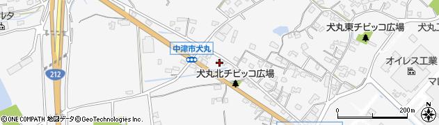大分県中津市犬丸1669周辺の地図