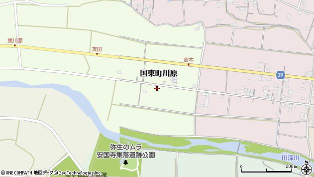 大分県国東市国東町川原846周辺の地図