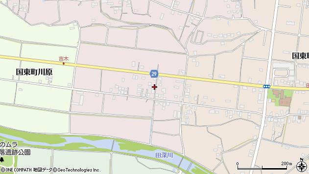 大分県国東市国東町北江262周辺の地図