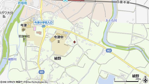 大分県中津市植野1852周辺の地図