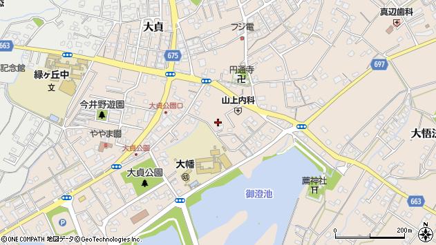 大分県中津市大貞268周辺の地図