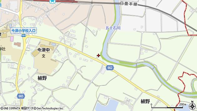 大分県中津市植野2015周辺の地図