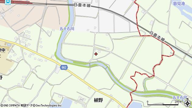 大分県中津市植野2082周辺の地図