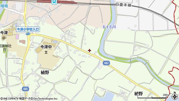 大分県中津市植野2010周辺の地図