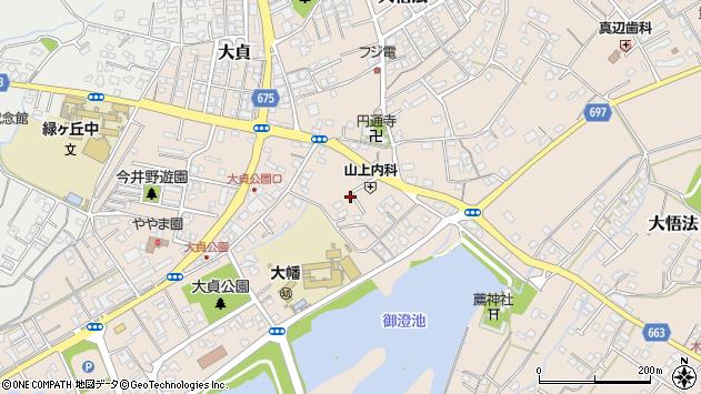 大分県中津市大貞250周辺の地図