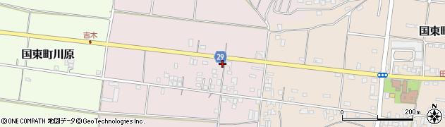大分県国東市国東町北江260周辺の地図