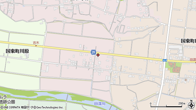 大分県国東市国東町北江259周辺の地図