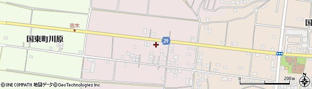 大分県国東市国東町北江272周辺の地図