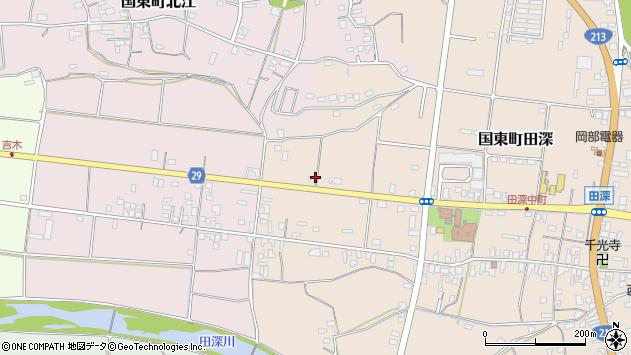 大分県国東市国東町田深730周辺の地図
