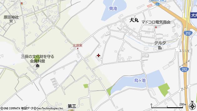 大分県中津市犬丸2269周辺の地図