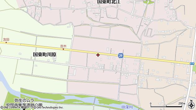 大分県国東市国東町北江92周辺の地図