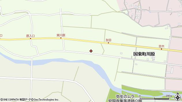 大分県国東市国東町川原613周辺の地図