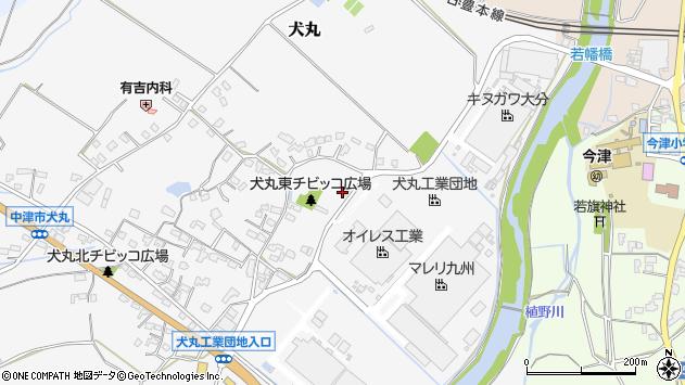 大分県中津市犬丸264周辺の地図