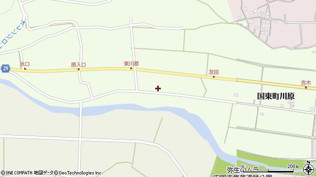 大分県国東市国東町川原737周辺の地図
