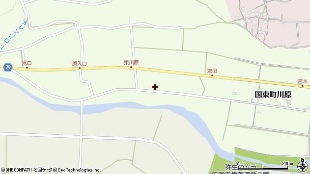 大分県国東市国東町川原733周辺の地図