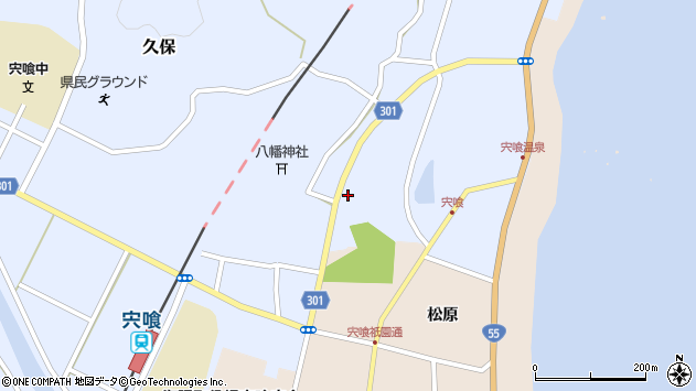 徳島県海部郡海陽町久保板取 住所一覧から地図を検索