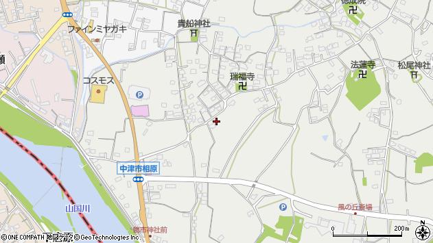 大分県中津市相原3469周辺の地図