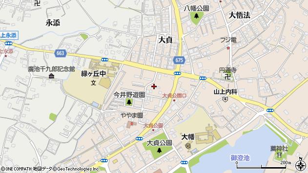 大分県中津市大貞299周辺の地図