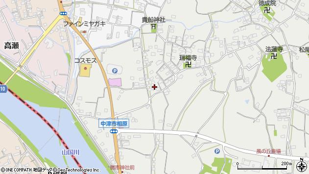 大分県中津市相原3622周辺の地図