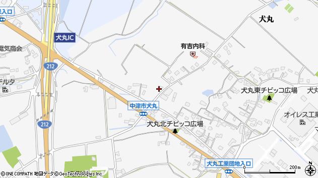大分県中津市犬丸1947周辺の地図