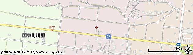 大分県国東市国東町北江289周辺の地図