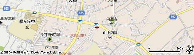 大分県中津市大貞257周辺の地図