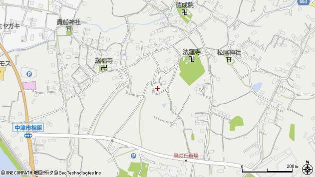 大分県中津市相原3553周辺の地図
