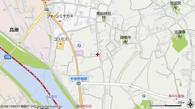 大分県中津市相原3348周辺の地図
