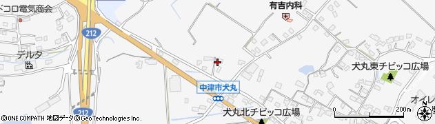 大分県中津市犬丸1956周辺の地図