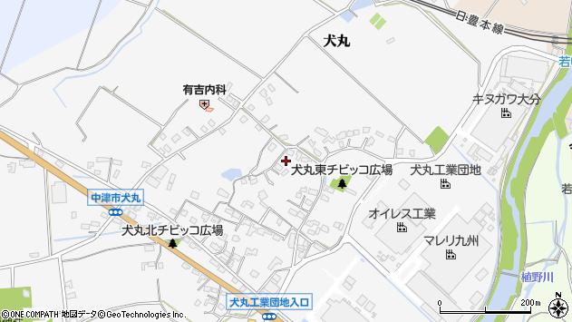大分県中津市犬丸552周辺の地図